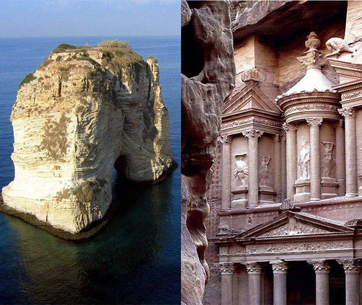circuit liban jordanie